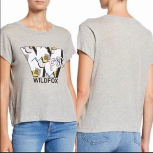 Wildfox 90's screen print short sleeve tee NWT